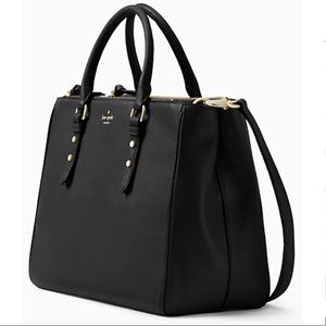 Kate Spade♠️Mulberry Street Leighann black leather